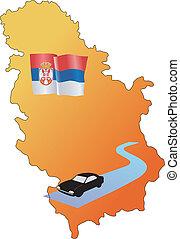 roads of Serbia