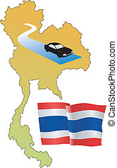 roads of Thailand