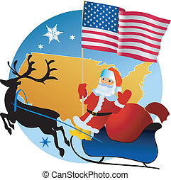 Merry Christmas! - Merry Christmas, USA!