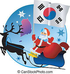 Merry Christmas, South Korea!