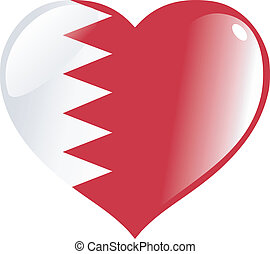 Bahrain in heart