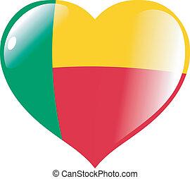 Benin in heart