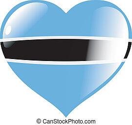 Botswana in heart