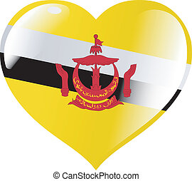 Brunei in heart