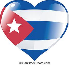 Cuba in heart