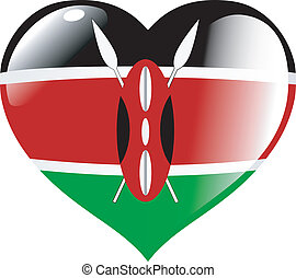 Kenya in heart