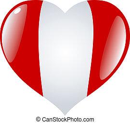Peru in heart