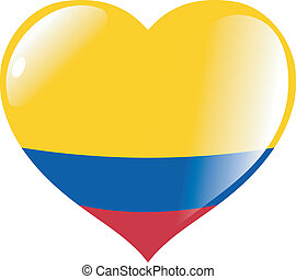 Colombia in heart