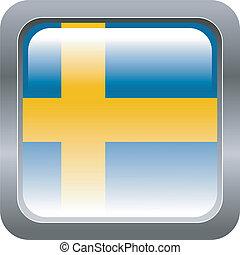 metallic button Sweden