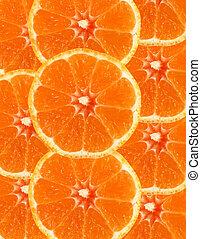 Sliced orange background - Sliced orange as a background