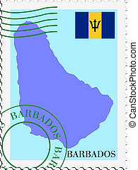 mail tofrom Barbados