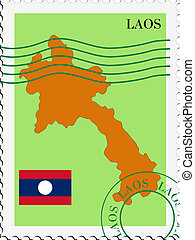 mail to/from Laos