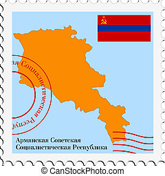 mail to/from Armenian SSR
