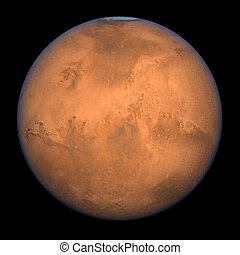Mars - Full Shot - Planet Mars - A high res Full Shot...