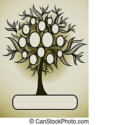 Vector family tree design