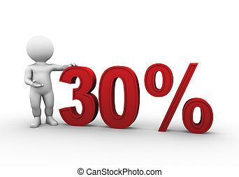 percent 30 - Bobby Series - Bobby is presenting a discount...