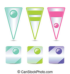 Sale banners - Vector collection of sale banners