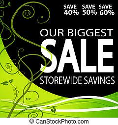 Storewide Sale Background