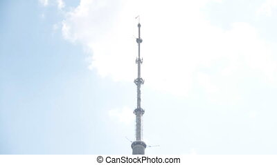 Ostankino TV Tower - Ostankino Tower in Moscow