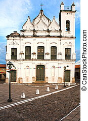 sao luis of maranhao - view of the historic center of the...