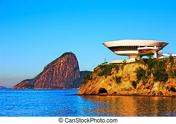 Museum of contemporary art in niteroi - oscar niemeyer...