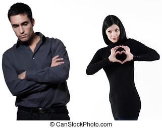 pareja, relación, dificultades