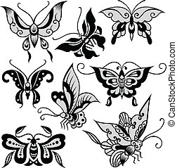 fancy butterfly illustration