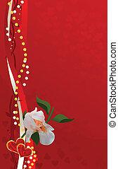 valentine background card