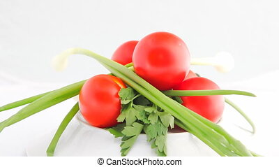 Turning vegetables HD