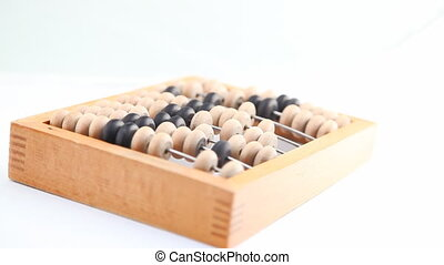 Turning  wooden abacus HD