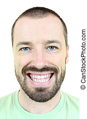 Smiling male