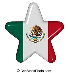 star in colors of Mexico