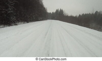 Driving in winter - Driving in winter