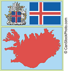 national attributes of Iceland