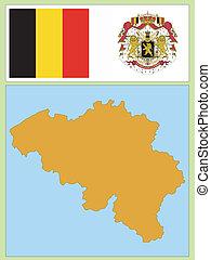 national attributes of Belgium