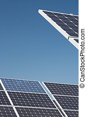 Solar power station - Solar cells - alternative energy