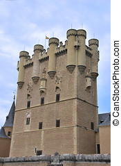 Alcazar, torre,  donjon