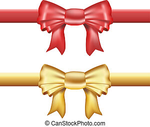 ribbon with color variations