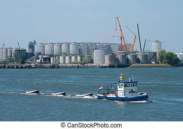 small tugboat