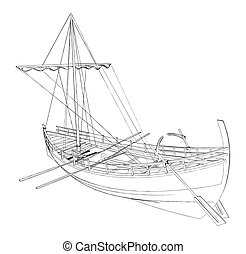 The Ancient Boat