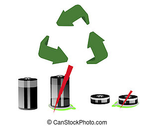 Recycle all old rechargable batter - Recycle all batteries,...