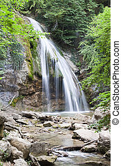 waterfall jur-jur in the Crimean moutains for you design
