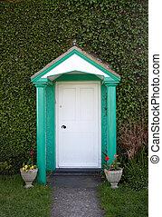 A quaint door