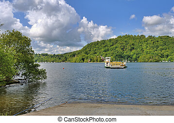 Windermere Ferry - The Windermere ferry near...