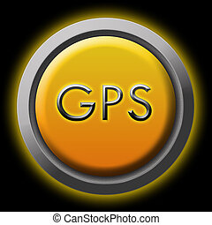 gps - This  is a image of web buttons.