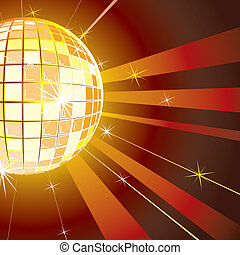 Disco Night background vector