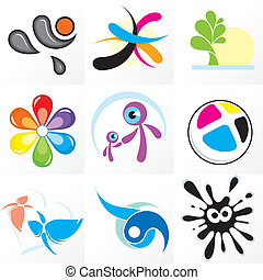 Design Logo #2 - Assorted abstract logos and id design...