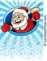 Santa Claus Card