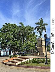 Statue of Jose Marti in Matanzas, Cuba