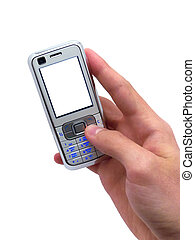 Business mobilephone. Element of design.